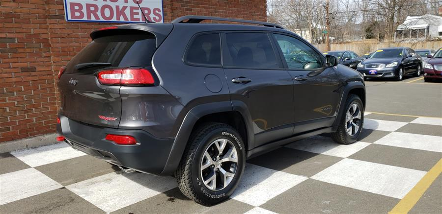 2015 Jeep Cherokee 4WD 4dr Trailhawk, available for sale in Waterbury, Connecticut | National Auto Brokers, Inc.. Waterbury, Connecticut