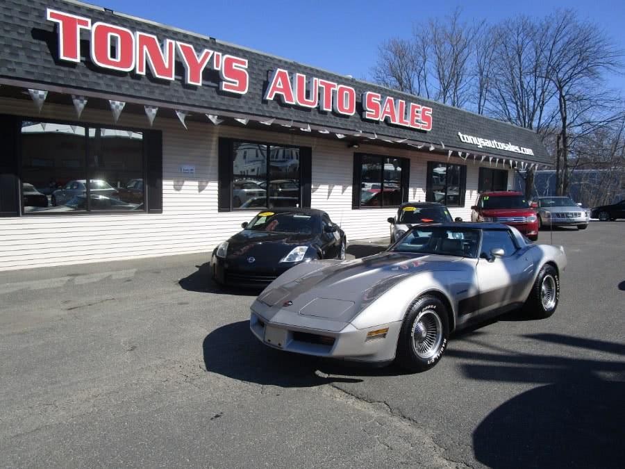 Used 1982 Chevrolet Corvette in Waterbury, Connecticut | Tony's Auto Sales. Waterbury, Connecticut