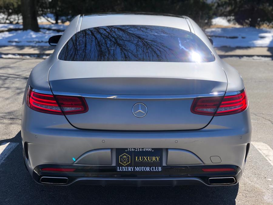 2016 Mercedes-Benz S-Class 2dr Cpe S 550 4MATIC, available for sale in Franklin Square, New York | Luxury Motor Club. Franklin Square, New York