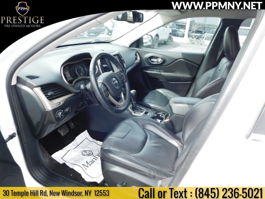 2016 Jeep Cherokee 4WD 4dr Limited, available for sale in New Windsor, New York | Prestige Pre-Owned Motors Inc. New Windsor, New York