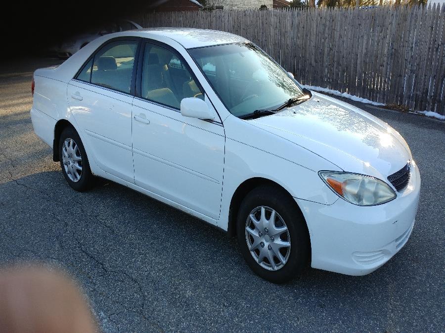 Used Toyota Camry 4dr Sdn LE Auto 2003   Matts Auto Mall LLC. Chicopee, Massachusetts