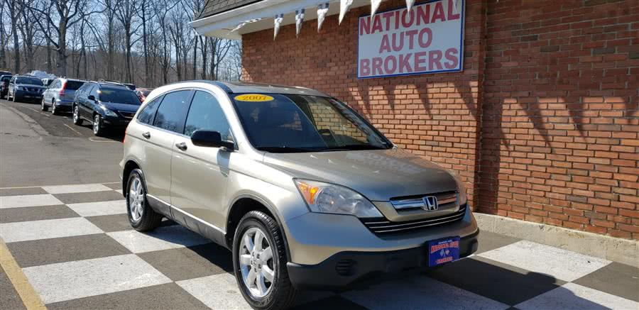 2007 Honda CR-V 4WD 5dr EX, available for sale in Waterbury, Connecticut   National Auto Brokers, Inc.. Waterbury, Connecticut