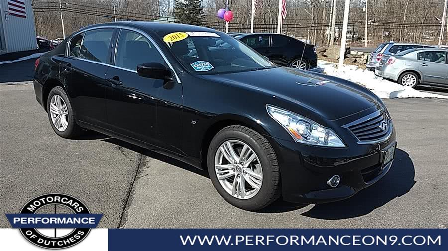 Used Infiniti Q40 4dr Sdn AWD 2015 | Performance Motorcars Inc. Wappingers Falls, New York