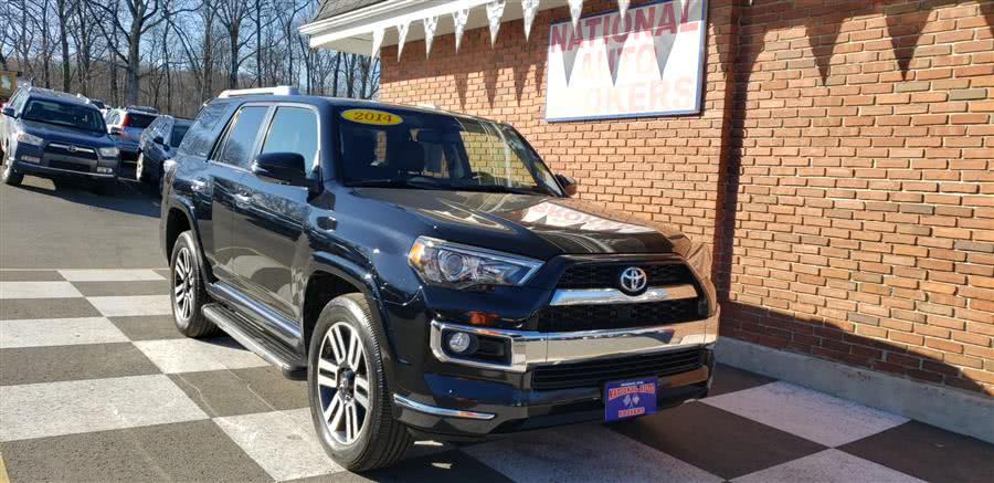 2014 Toyota 4Runner 4WD 4dr V6 Limited, available for sale in Waterbury, CT