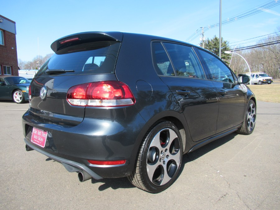 2011 Volkswagen GTI 4dr HB DSG w/Sunroof & Navi PZEV, available for sale in South Windsor, Connecticut | Mike And Tony Auto Sales, Inc. South Windsor, Connecticut