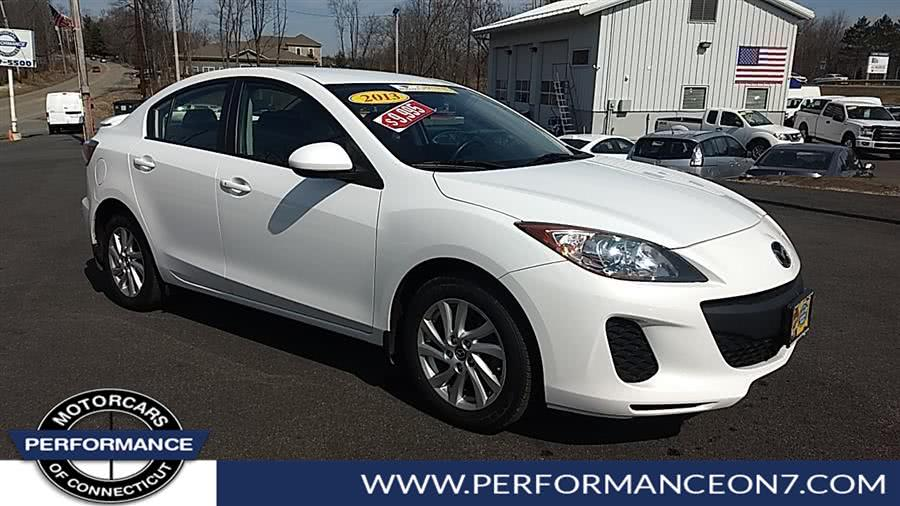 Used 2013 Mazda Mazda3 in Wilton, Connecticut | Performance Motor Cars. Wilton, Connecticut