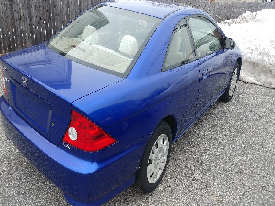 2004 Honda Civic 2dr Cpe LX Auto, available for sale in Chicopee, Massachusetts | Matts Auto Mall LLC. Chicopee, Massachusetts