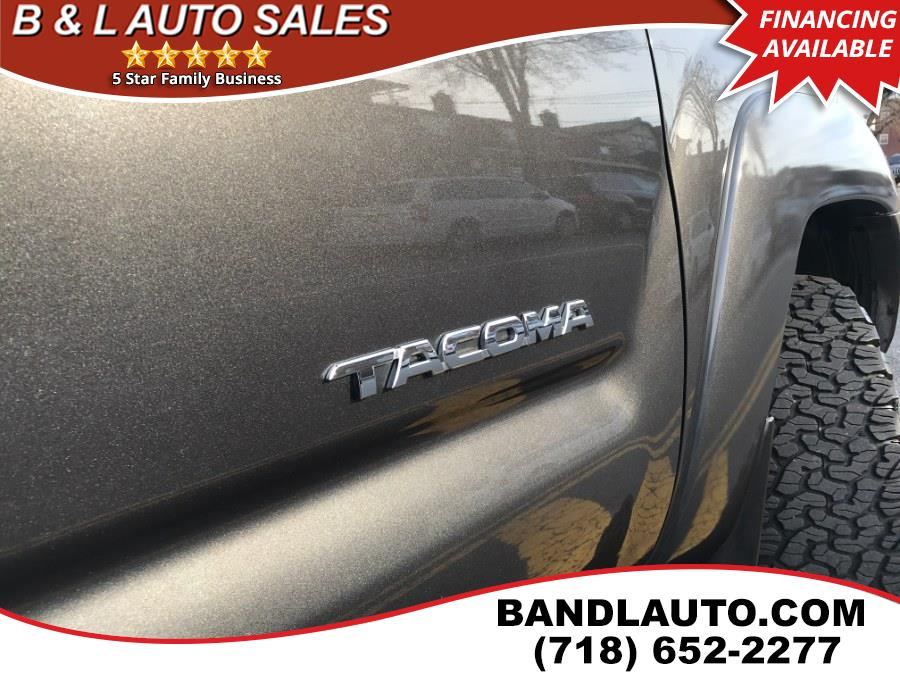 2015 Toyota Tacoma 4WD TRD Sport Double Cab V6, available for sale in Bronx, New York | B & L Auto Sales LLC. Bronx, New York
