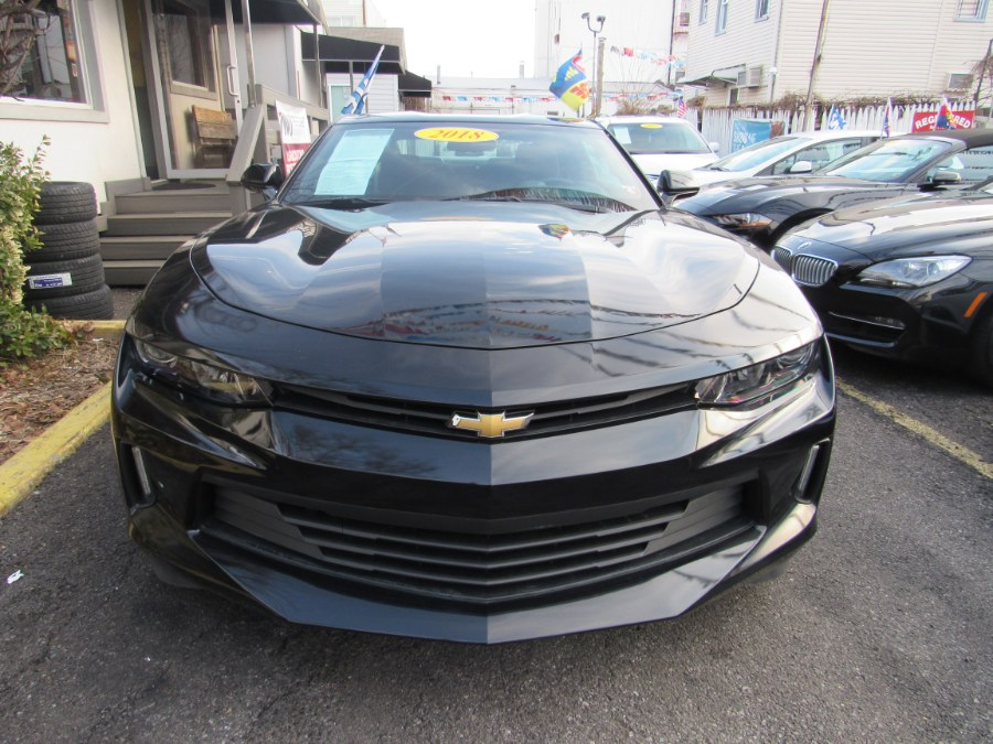 2018 Chevrolet Camaro 2dr Cpe LT w/1LT, available for sale in Middle Village, New York | Road Masters II INC. Middle Village, New York