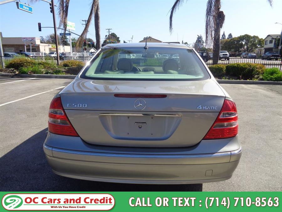 2006 Mercedes-benz E-class E500 4MATIC, available for sale in Garden Grove, California | OC Cars and Credit. Garden Grove, California