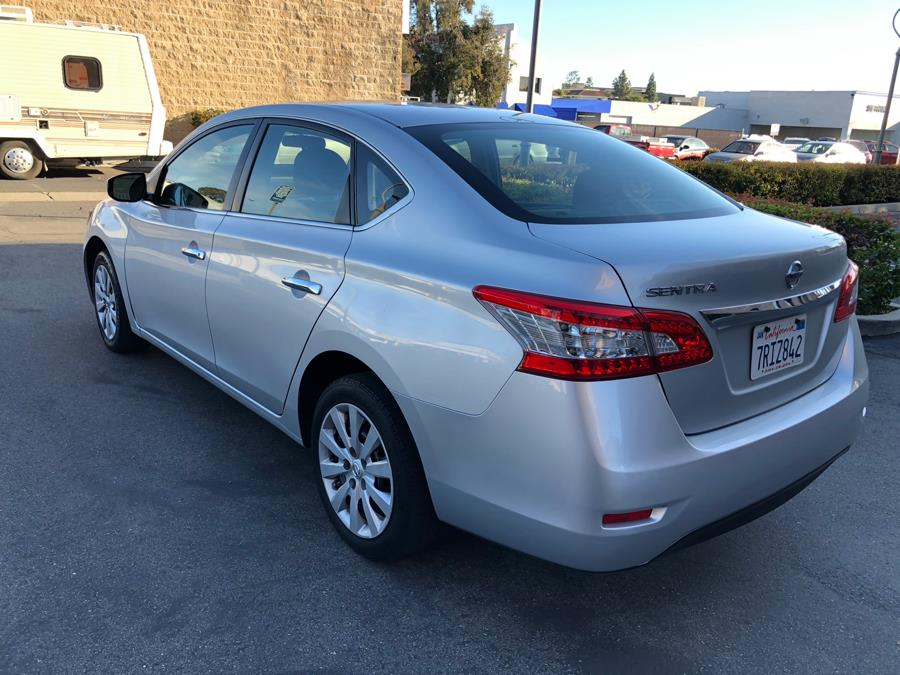 2015 Nissan Sentra 4dr Sdn I4 CVT SL, available for sale in Lake Forest, California | Carvin OC Inc. Lake Forest, California