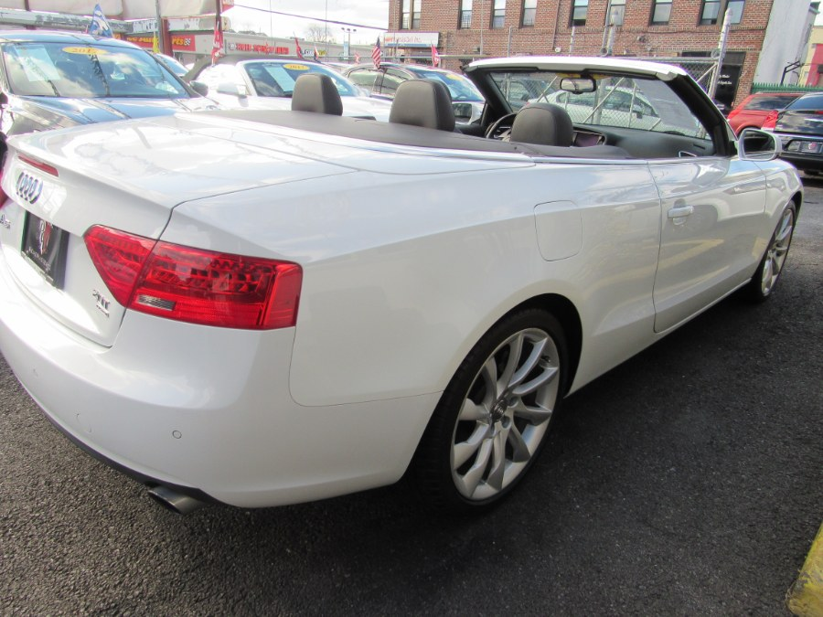 2014 Audi A5 2dr Cabriolet Auto quattro 2.0T Premium Plus, available for sale in Middle Village, New York | Road Masters II INC. Middle Village, New York