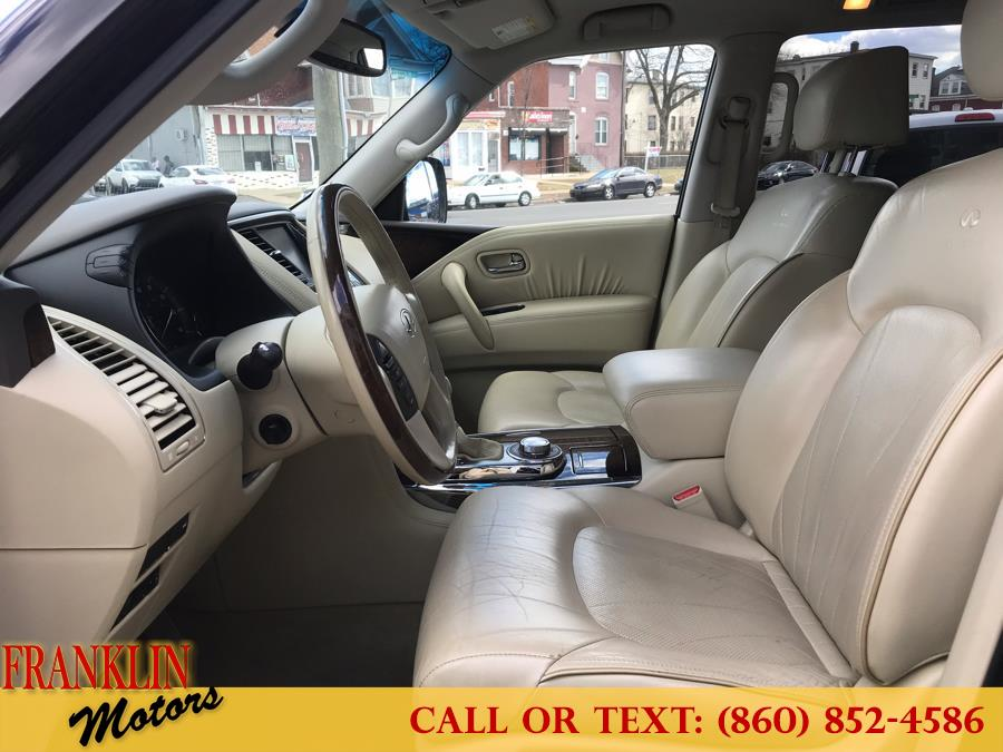 Used Infiniti QX56 4WD 4dr 7-passenger 2011 | Franklin Motors Auto Sales LLC. Hartford, Connecticut