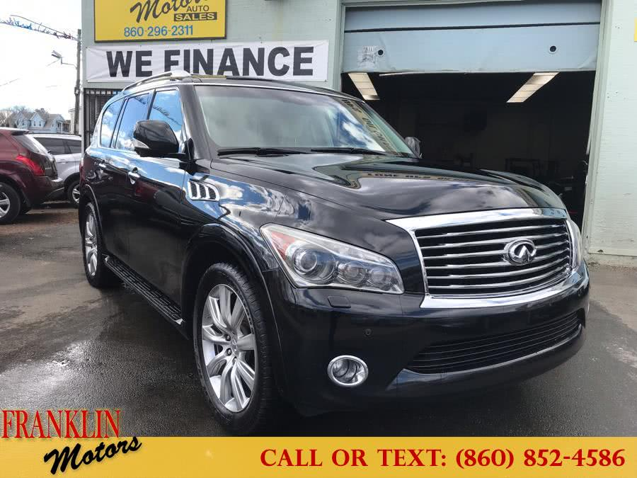 2011 Infiniti QX56 4WD 4dr 7-passenger, available for sale in Hartford, CT