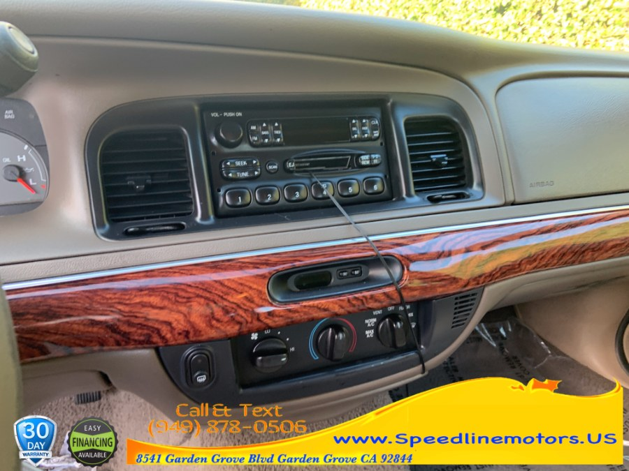 2002 Mercury Grand Marquis 4dr Sdn GS Convenience, available for sale in Garden Grove, California | Speedline Motors. Garden Grove, California