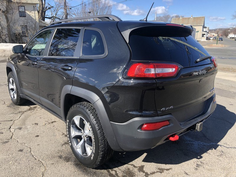 2015 Jeep Cherokee 4WD 4dr Trailhawk, available for sale in West Springfield, Massachusetts | Union Street Auto Sales. West Springfield, Massachusetts