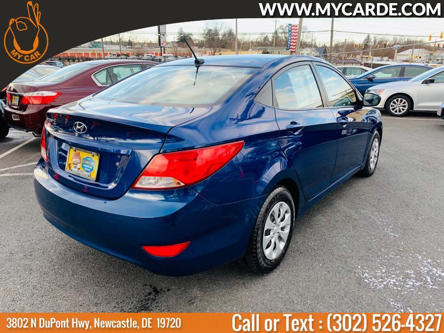 2016 Hyundai Accent 4dr Sdn Auto SE, available for sale in Newcastle, Delaware | My Car. Newcastle, Delaware