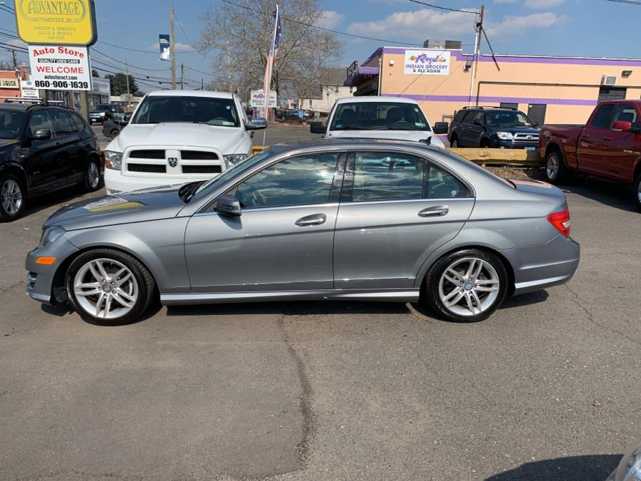 2012 Mercedes-Benz C-Class 4dr Sdn C 300 Sport 4MATIC, available for sale in West Hartford, Connecticut | Auto Store. West Hartford, Connecticut