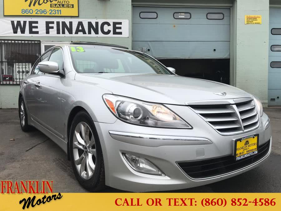 2013 Hyundai Genesis 4dr Sdn V6 3.8L, available for sale in Hartford, Connecticut | Franklin Motors Auto Sales LLC. Hartford, Connecticut