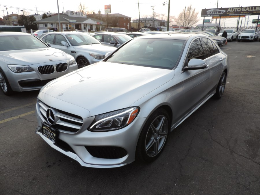 2015 Mercedes-Benz C-Class 4dr Sdn C300 Sport 4MATIC AMG, available for sale in Lodi, New Jersey | Auto Gallery. Lodi, New Jersey