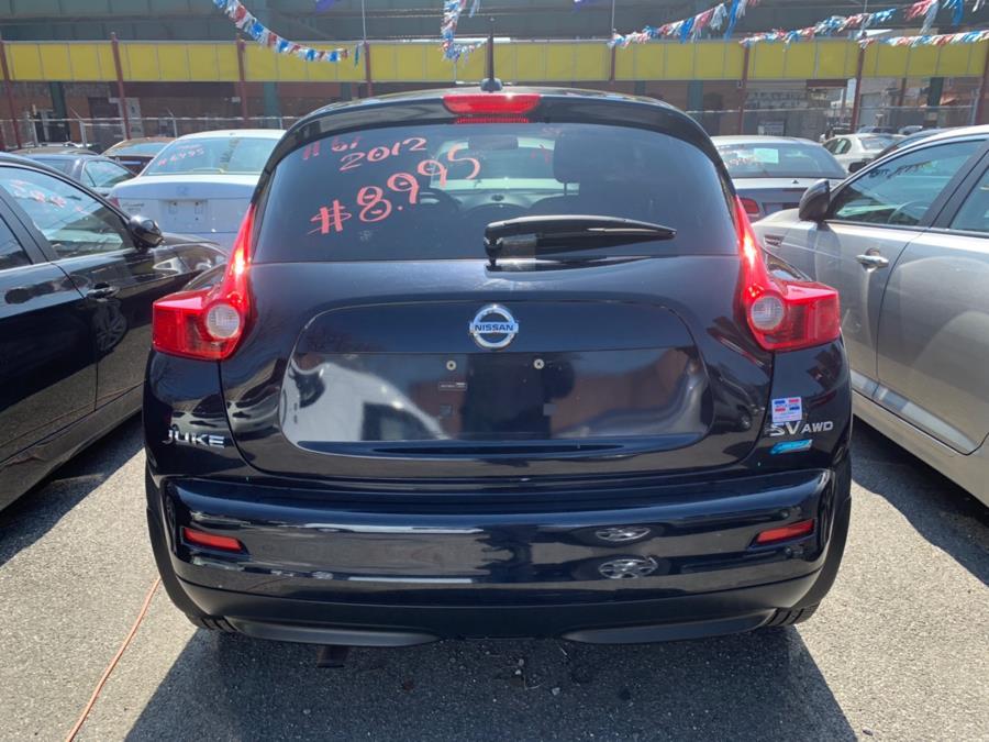 2012 Nissan JUKE 5dr Wgn CVT SV AWD, available for sale in Brooklyn, New York | Atlantic Used Car Sales. Brooklyn, New York