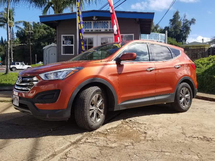 Used 2016 Hyundai Santa Fe Sport in Lihue, Hawaii | Harbor Motors Inc. Lihue, Hawaii
