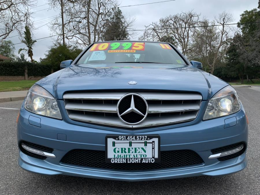 Used Mercedes-Benz C-Class 4dr Sdn C300 Sport 4MATIC 2011 | Green Light Auto. Corona, California