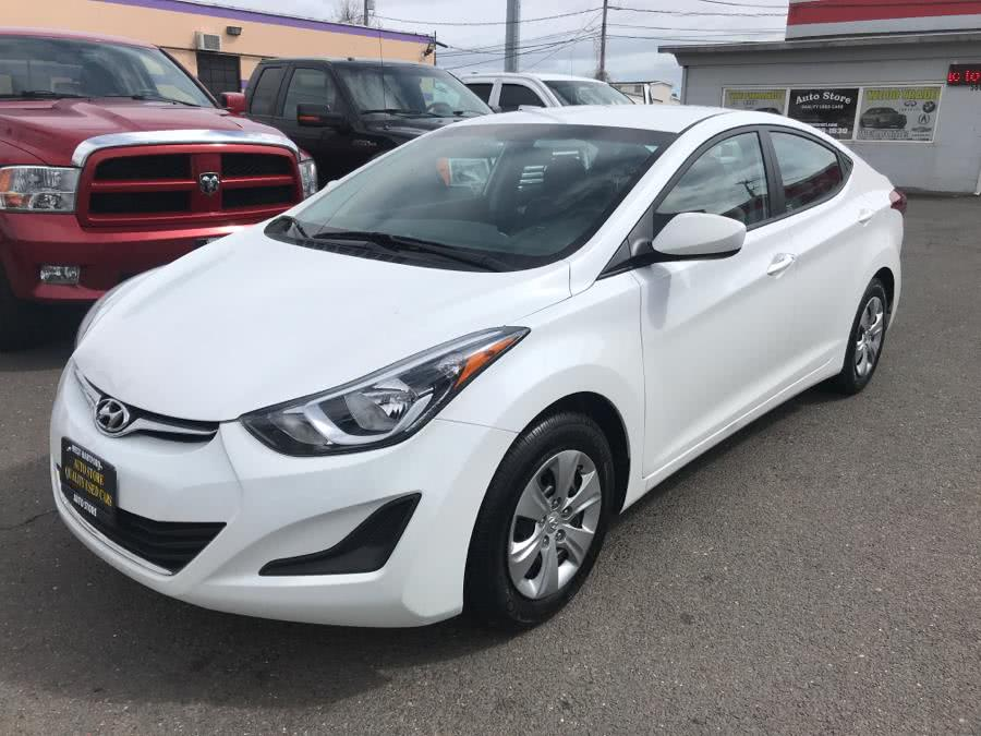 2016 Hyundai Elantra 4dr Sdn Auto SE (Alabama Plant), available for sale in West Hartford, Connecticut | Auto Store. West Hartford, Connecticut