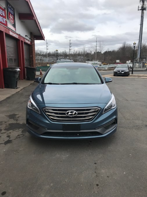 2016 Hyundai Sonata 4dr Sdn 2.4L Sport PZEV, available for sale in Hartford, Connecticut | Route 44 Auto Sales & Repairs LLC. Hartford, Connecticut