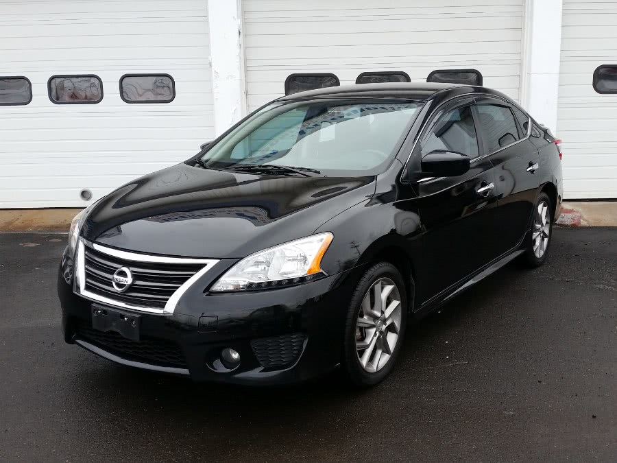 2013 Nissan Sentra 4dr Sdn I4 CVT SR, available for sale in Berlin, Connecticut | Action Automotive. Berlin, Connecticut