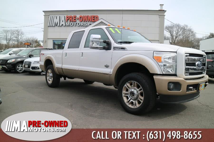 Used 2011 Ford Super Duty F-250 DIESEL in Huntington, New York | M & A Motors. Huntington, New York