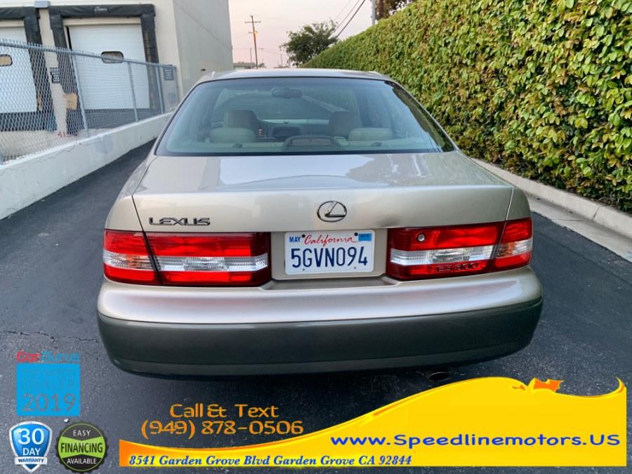 2000 Lexus ES 300 4dr Sdn, available for sale in Garden Grove, California | Speedline Motors. Garden Grove, California