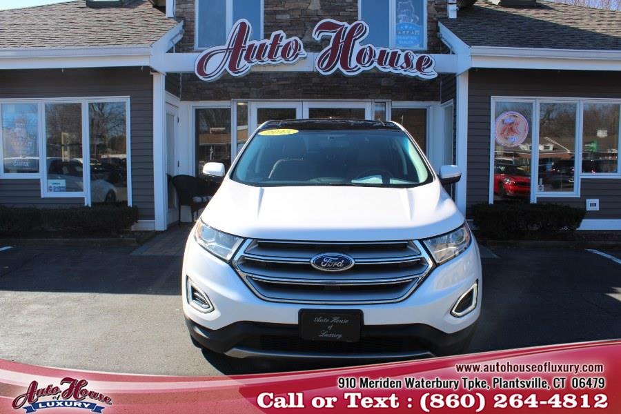 2015 Ford Edge 4dr Titanium AWD, available for sale in Plantsville, Connecticut | Auto House of Luxury. Plantsville, Connecticut