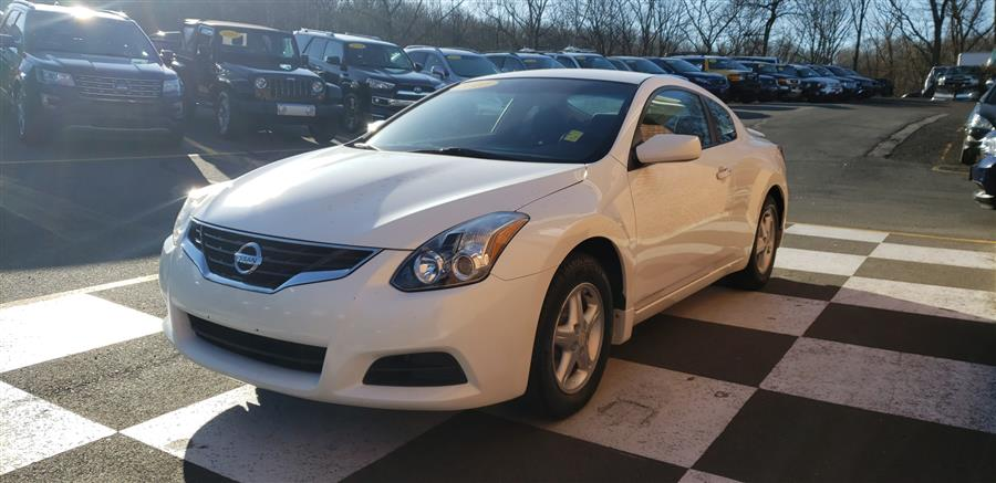 2010 Nissan Altima 2dr Cpe Manual 2.5 S, available for sale in Waterbury, Connecticut | National Auto Brokers, Inc.. Waterbury, Connecticut
