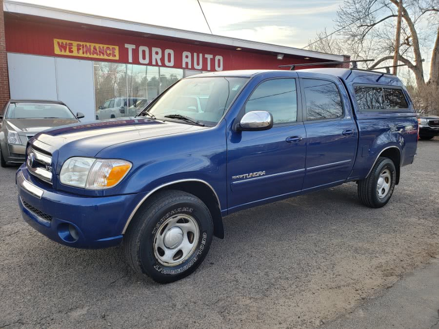 2005 Toyota Tundra DoubleCab V8 SR5 4WD, available for sale in East Windsor, Connecticut | Toro Auto. East Windsor, Connecticut