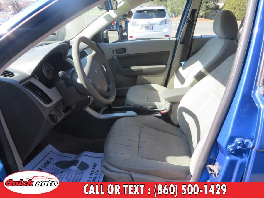 2011 Ford Focus 4dr Sdn SE, available for sale in Bristol, Connecticut | Quick Auto LLC. Bristol, Connecticut