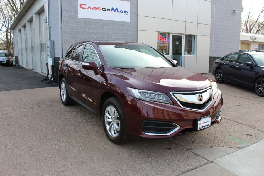 2016 Acura RDX AWD 4dr Tech/AcuraWatch Plus Pkg, available for sale in Manchester, Connecticut | Carsonmain LLC. Manchester, Connecticut