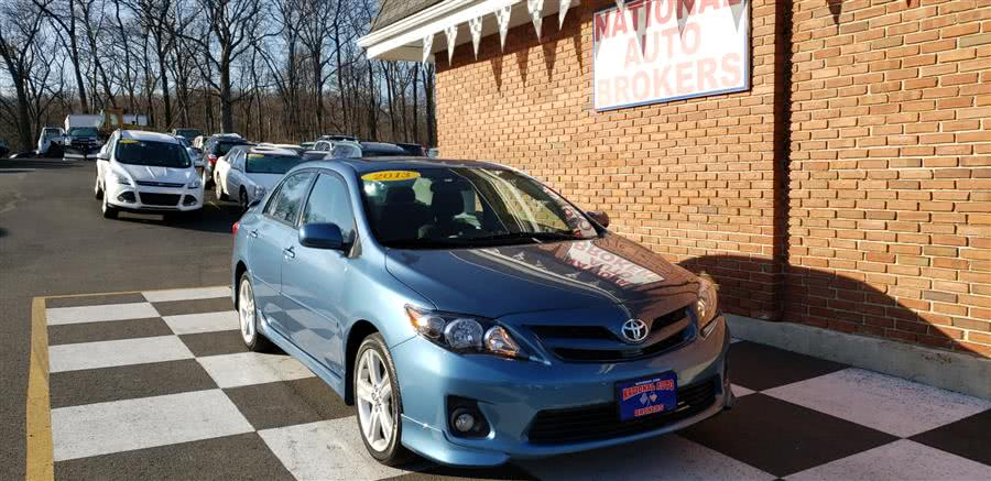 Used Toyota Corolla 4dr Sdn Auto S 2013 | National Auto Brokers, Inc.. Waterbury, Connecticut