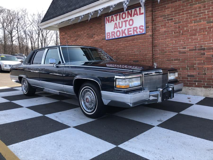 Used 1991 Cadillac Brougham in Waterbury, Connecticut | National Auto Brokers, Inc.. Waterbury, Connecticut