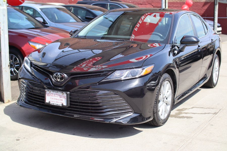 2018 Toyota Camry LE Auto (Natl), available for sale in Jamaica, New York   Hillside Auto Mall Inc.. Jamaica, New York