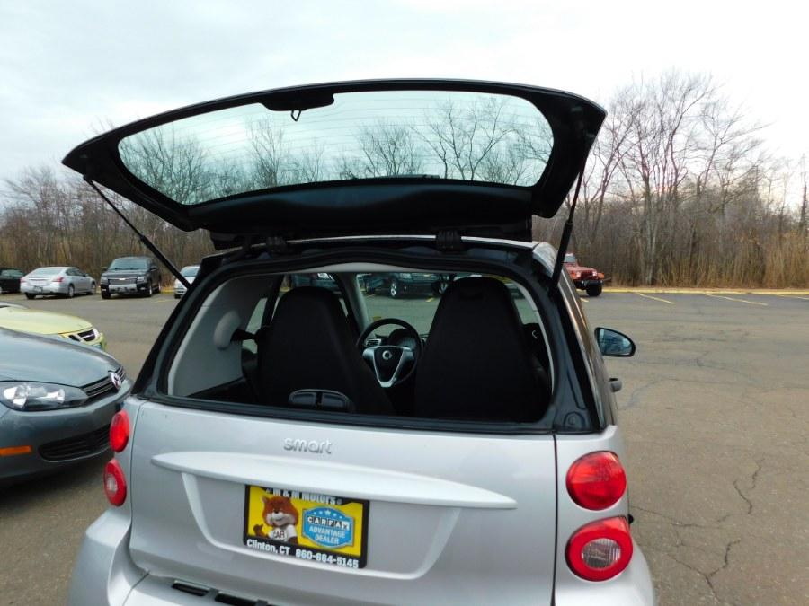2008 Smart fortwo 2dr Cpe Passion, available for sale in Clinton, Connecticut | M&M Motors International. Clinton, Connecticut