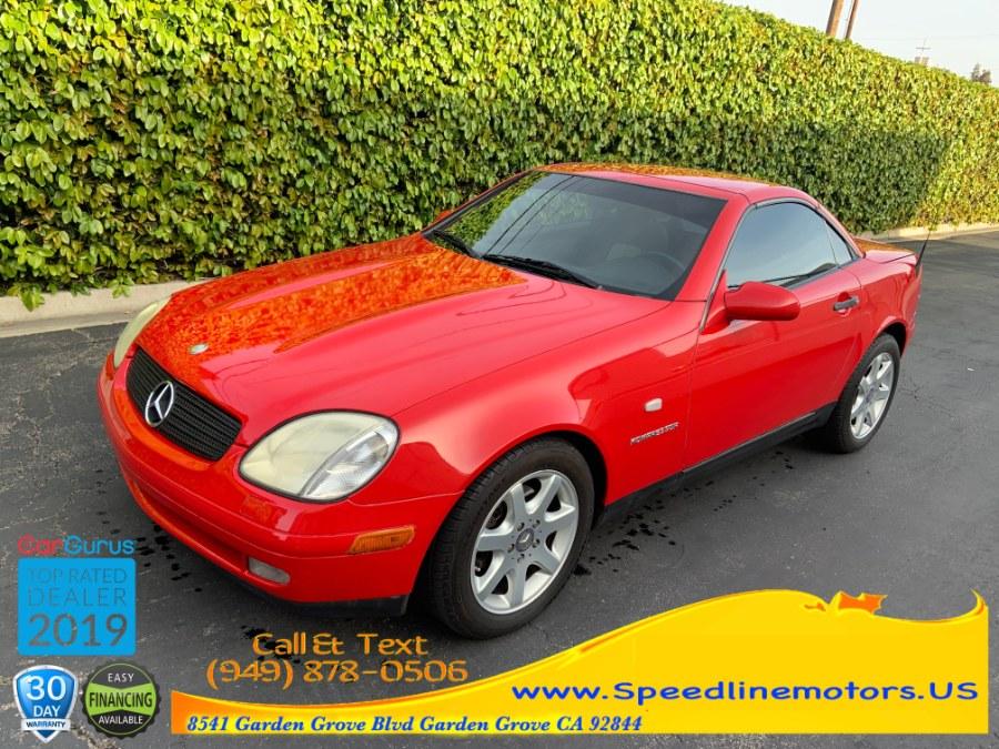 1999 Mercedes-Benz SLK-Class 2dr Kompressor Roadster 2.3L, available for sale in Garden Grove, California | Speedline Motors. Garden Grove, California