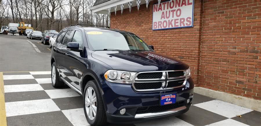 Used 2012 Dodge Durango in Waterbury, Connecticut | National Auto Brokers, Inc.. Waterbury, Connecticut