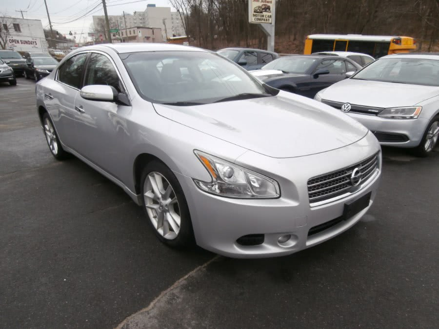 2011 Nissan Maxima 4dr Sdn V6 CVT 3.5 SV w/Premium Pkg, available for sale in Waterbury, Connecticut | Jim Juliani Motors. Waterbury, Connecticut