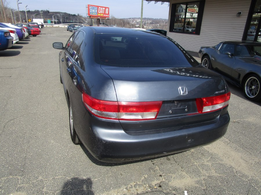 2003 Honda Accord Sdn EX Auto, available for sale in Waterbury, Connecticut | Tony's Auto Sales. Waterbury, Connecticut