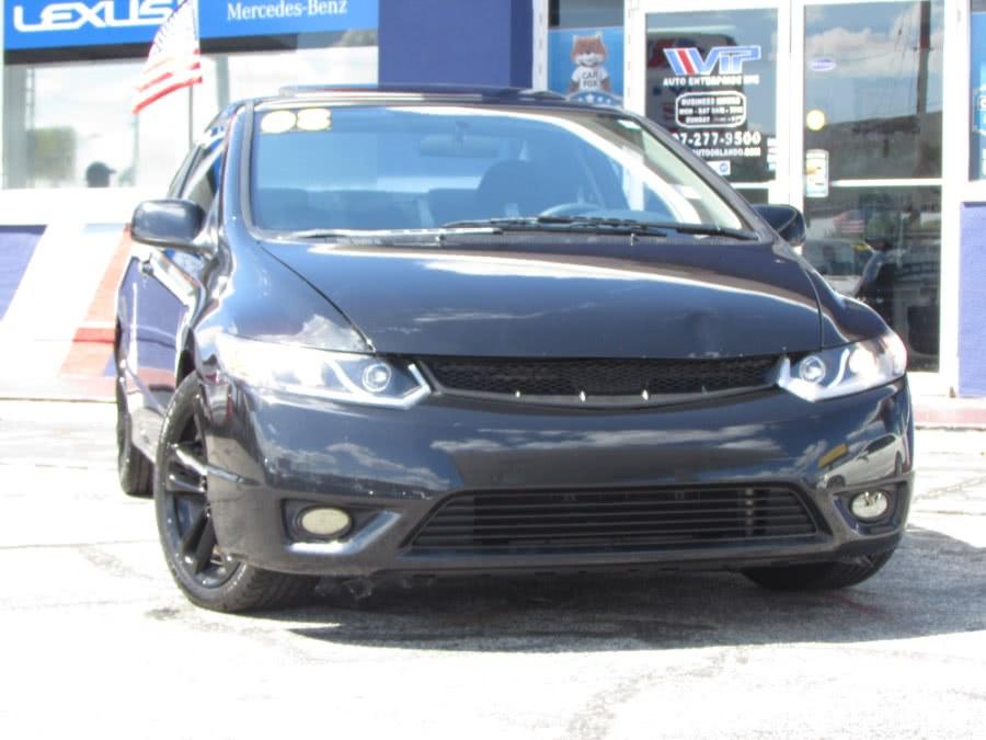 Used Honda Civic Cpe 2dr Man Si w/Summer Tires 2008 | VIP Auto Enterprise, Inc. Orlando, Florida