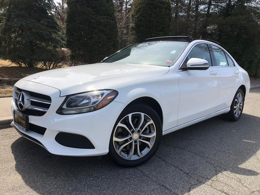 2016 Mercedes-Benz C-Class 4dr Sdn C 300 Sport 4MATIC, available for sale in Franklin Square, New York | Luxury Motor Club. Franklin Square, New York