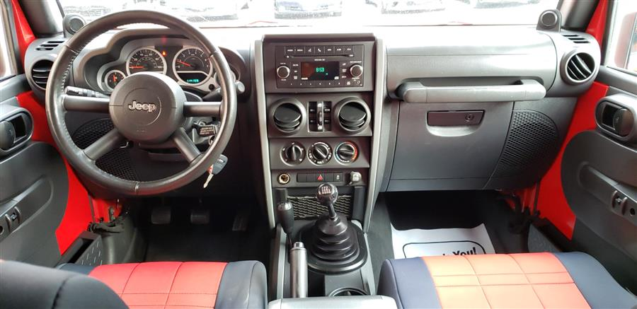 2010 Jeep Wrangler Unlimited 4WD 4dr Sport, available for sale in Waterbury, Connecticut | National Auto Brokers, Inc.. Waterbury, Connecticut