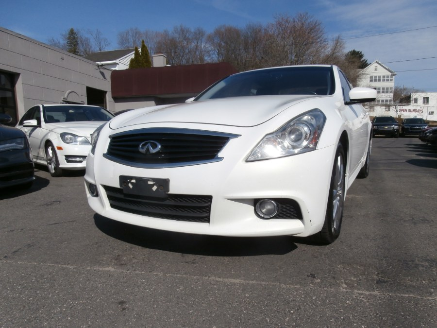 2010 Infiniti G37 Sedan 4dr x AWD, available for sale in Waterbury, Connecticut | Jim Juliani Motors. Waterbury, Connecticut