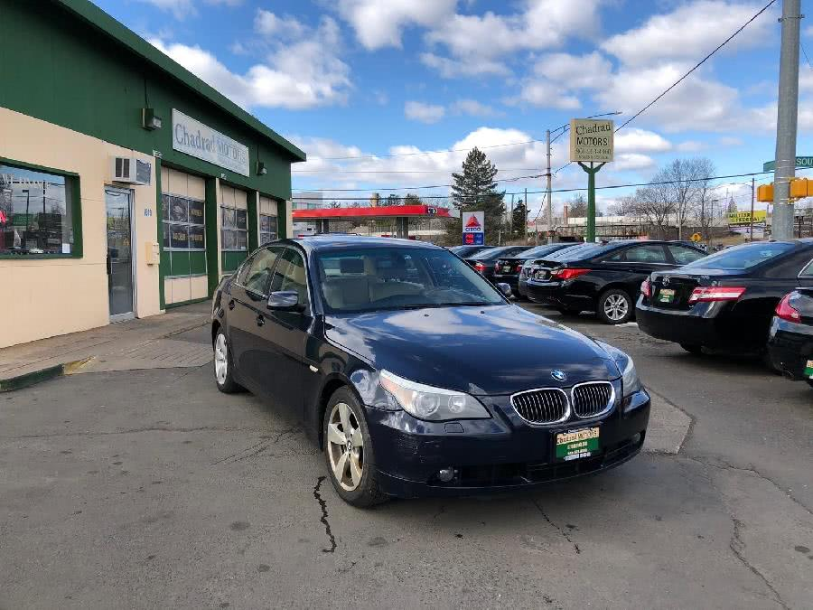 Used 2007 BMW 5 Series in West Hartford, Connecticut | Chadrad Motors llc. West Hartford, Connecticut